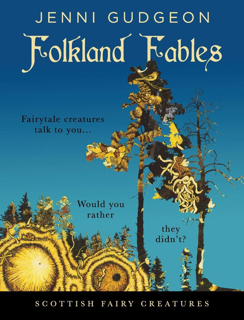 Kidlit Book Review – Folkland Fables: Scottish Fairy Creatures by Jenni Gudgeon